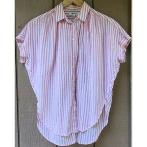 Madewell Cotton Striped Top